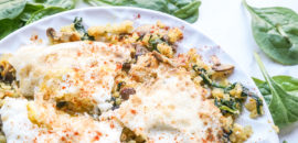 Eat More Plants For Breakfast: Cauliflower Hash With Egg