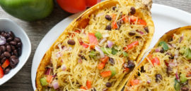 Eat More Plants: Chilled Spaghetti Squash Salad (Vegan, Gluten Free, Dairy Free, Sugar Free)