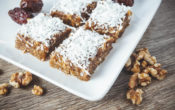 Gooey Date Squares (Vegan, No Sugar Added, Dairy Free, Gluten Free)